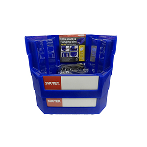 1010005 Hanging Bin 2 Pack nested front view FOR WEBSITE